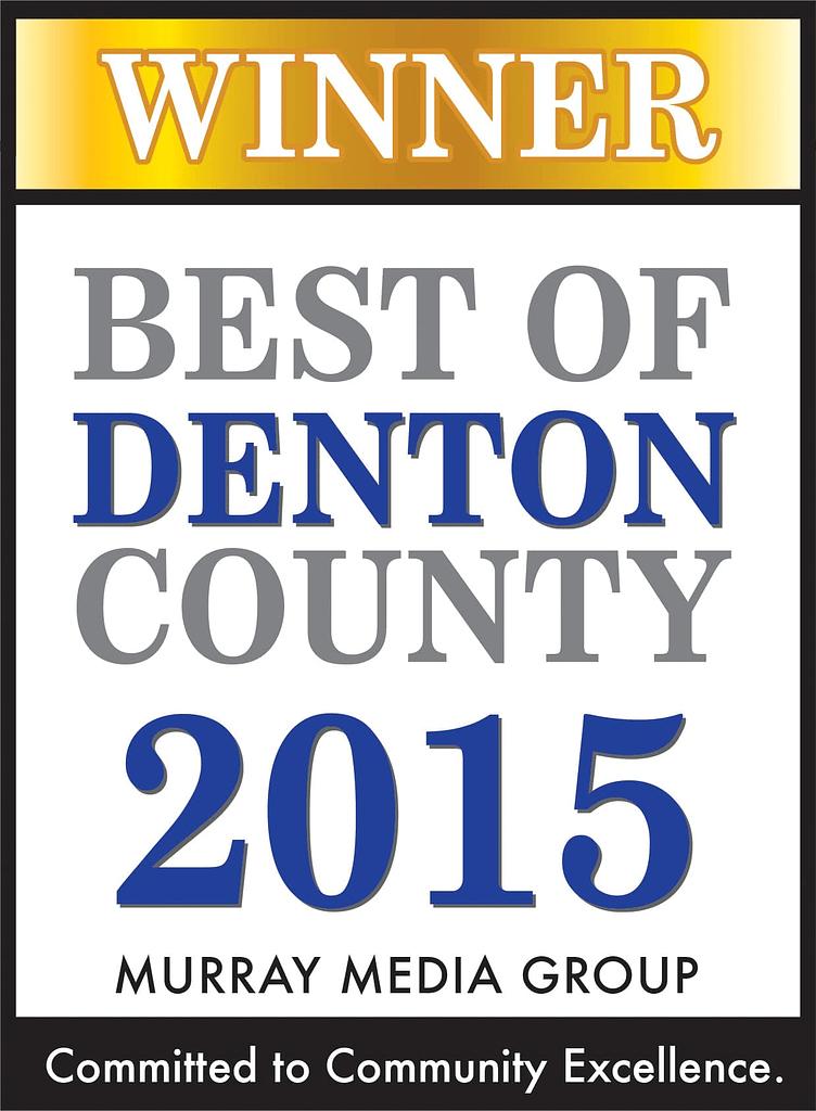 Best of Denton County 2015 Award